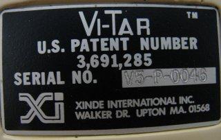 Mietek Glinkowski's White Vitar - Label