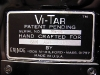Mark Dalzell's Vitar - Label